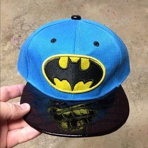 NEW Boys Batman SnapBack Hat